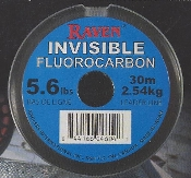 RAVEN INVISIBLE FLUOROCARBON LEADER FISHING LINE