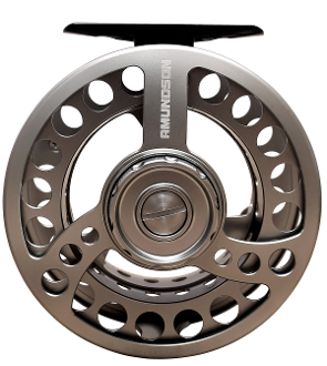AMUNDSON SILVER GANG FLY REEL EXTRA SPOOL