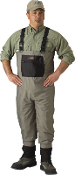 CADDIS BREATHABLE STOCKINGFOOT WADERS