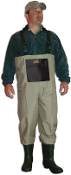 CADDIS BREATHABLE BOOTFOOT WADERS