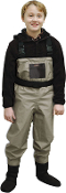 CADDIS YOUTH BREATHABLE STOCKINGFOOT WADERS