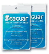 SEAGUAR KNOTLESS TAPERED FLY LEADERS