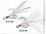 VMC DRESSED X-RAP TREBLE HOOK