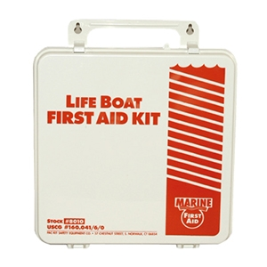 PAC-KIT USCG APPROVED LIFE BOAT FIRST AID KIT