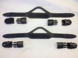 THE CREEK COMPANY FIN STRAPS WITH BUCKLES
